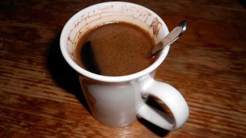 koffie toebroek