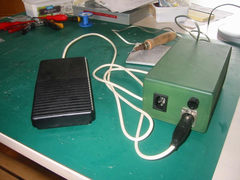 Vaak weerstand soldeer apparaat. SM53