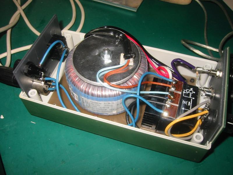 Extreem weerstand soldeer apparaat. SP99